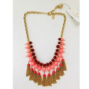 Kate Spade That's A Wrap Tassel Necklace